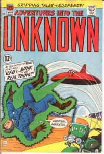 ADVENTURES INTO THE UNKNOWN 174 VG COMICS BOOK