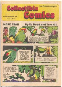 Collectible Comics #9 1978-Sunday Herald-Tarzan-Russ Manning-Gil Kane-FN/VF