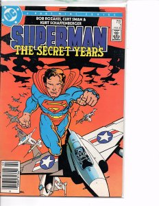DC Comics (1985) Superman The Secret Years #1 Frank Miller Cover Curt Swan Art