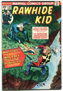 RAWHIDE KID #120, 122 123 124 125, FN, Western, Gunfights, more in store