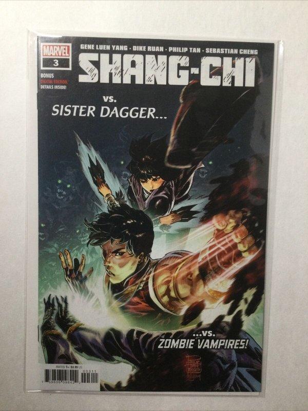 Shang-Chi 3 Near Mint Nm Marvel