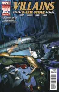 Villains For Hire #4 VF; Marvel | save on shipping - details inside