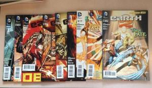 Earth 2 10-17 Annual 1 9 Book Near Mint Lot Set Run