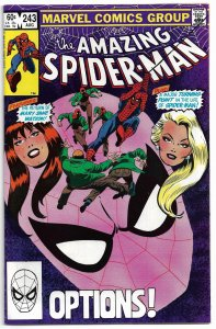 Amazing Spiderman #243 (F) 1983 - Bronze Age