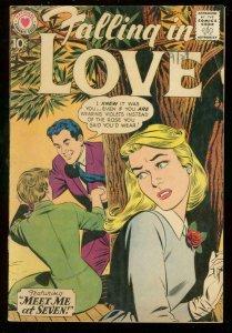 FALLING IN LOVE #39 1960-DC ROMANCE COMICS-ROMANCE FN-