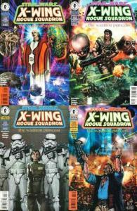 STAR WARS X WING ROGUE SQUADRON WARRIOR PRINCESS 1-4 COMICS BOOK