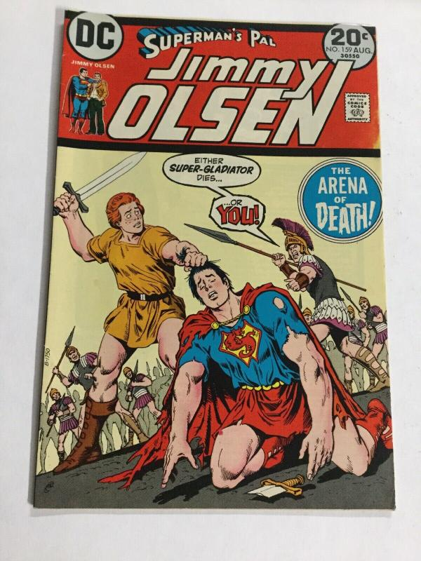 Superman's Pal Jimmy Olsen 159 Vf Very Fine 8.0 DC Comics