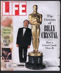 Life 4/1990-Time-Billy Crystal-Hume Cronyn-Jessica Tandy-Mandela-FR/G