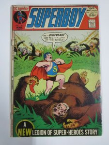 SUPERBOY #183 FINE  (DC, March 1972)  Legion of Superheroes, Superbaby Cover