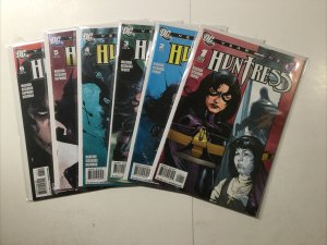 Huntress Year One 1-6 1 2 3 4 5 6 Lot Run Set Near Mint Nm Dc Comics