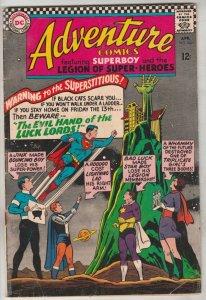 Adventure Comics #343 (Apr-66) FN Mid-Grade Legion of Super-Heroes (Superboy,...