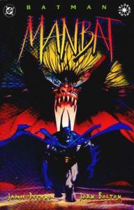 Batman: Manbat #1, NM + (Stock photo)