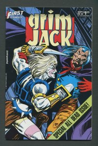 Grim Jack #38  /  9.4 NM   September 1987
