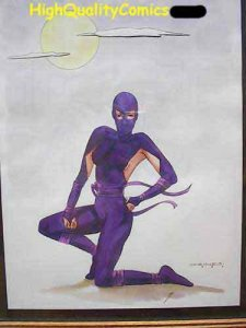 WHISPER Original art by Haines, Martial Artist, Ninja, 1989