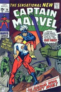 Captain Marvel (1968 series) #20, Fine+ (Stock photo)