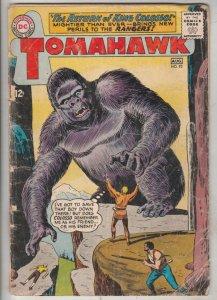 Tomahawk #93 (Aug-64) VG/FN- Mid-Grade Tomahawk