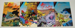 Feud #1-4 VF/NM complete series - mike baron - great read! - epic comics 2 3