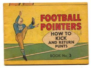 How to Kick and Return Punt- Football Pointers #3 promo comic
