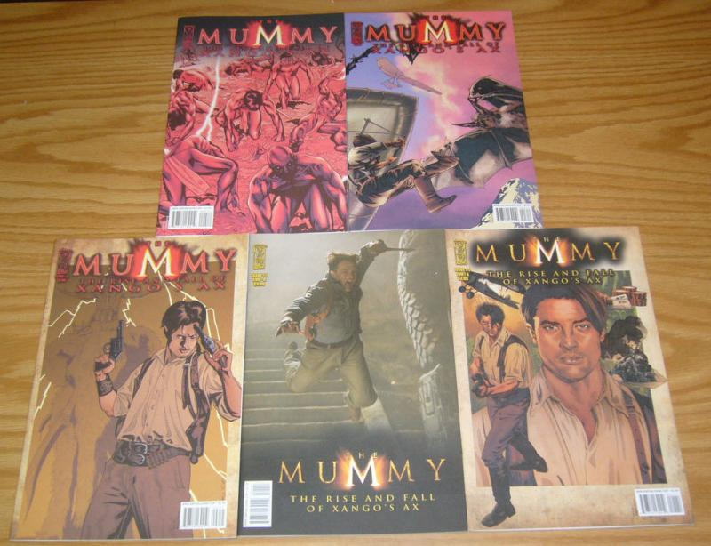 the Mummy: Rise and Fall of Xango's Ax #1-4 VF/NM complete series +photo variant