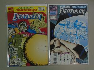 Deathlok  Annual From:#1+2, 8.0/VF - (1992+1993)