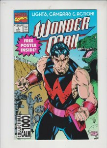 WONDER MAN #1 1991  MARVEL  / UNREAD /  HIGH GRADE