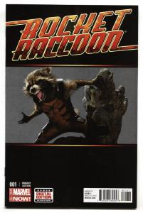 ROCKET RACCOON #1-Photo Variant cover-First issue-marvel 2014-nm-