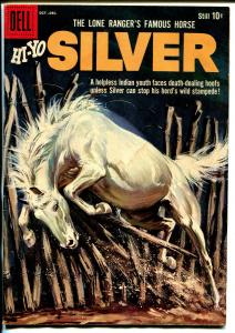 Lone Rangers Famous Horse Hi-Yo Silver-#32 1959-Dell-painted cover-G/VG