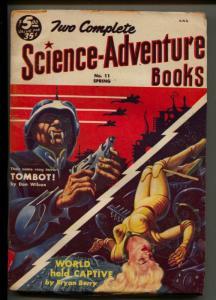 Science-Adventure Books-Pulp-Spring/1954-Don Wilcox-Bryan Berry