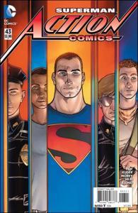 DC ACTION COMICS (2011 Series) #43 VF/NM