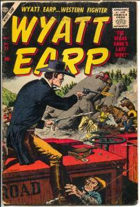 Wyatt Earp #11 1957-Atlas-John Severin-Dick Ayers-Joe Maneely-VG