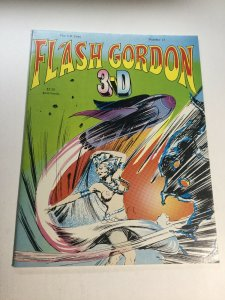 Flash Gordon 3-D 13 Nm Near Mint Magazine The 3-D Zone