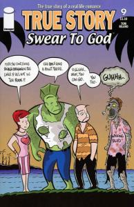 True Story Swear to God (Vol. 2) #9 VF/NM; Image | save on shipping - details in