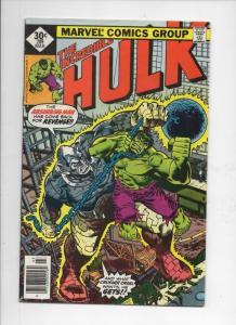 HULK #209, FN, Incredible, Bruce Banner, Absorbing Man, 1968 1977, Marvel