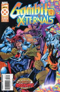 Gambit And the X-Ternals #3 VF/NM; Marvel   save on shipping - details inside