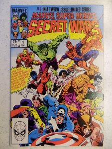MARVEL SECRET WARS # 1