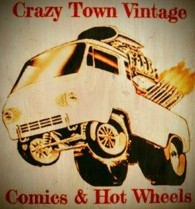 Crazy Town Vintage Comics & Hotwheels