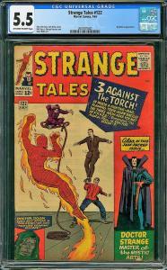 Strange Tales #122 (Marvel, 1964) CGC 5.5