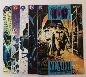 Batman: Legends Of The Dark Knight #16-20 Five Issue Venom Set VF/NM DC Comics