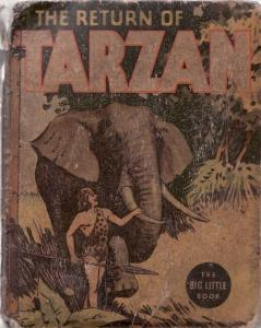 RETURN OF TARZAN-1936-BIG LITTLE BOOK-WHITMAN-#1102 FR/G