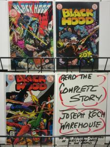 BLACK HOOD (1983 ) 1-3  ALEX TOTH  THE FOX !