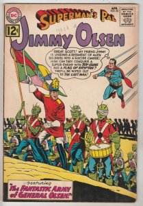 Jimmy Olsen, Superman's Pal  #60 (Apr-62) FN/VF+ Mid-High-Grade Jimmy Olsen