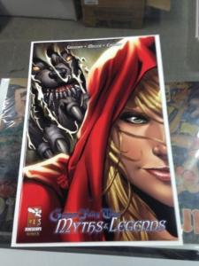 Grimm Fairy Tales Myths & Legends 1 NM Mike Delbalfo Variant Cover