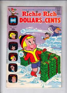 Richie Rich Dollars and Cents #35 (Mar-70) FN/VF Mid-High-Grade Richie Rich