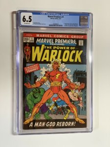 Marvel Premiere 1 Cgc 6.5 Ow Pages