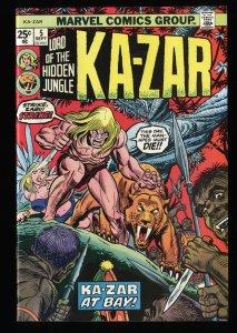 Ka-Zar (1974) #5 NM+ 9.6