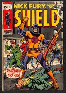 Nick Fury, Agent of SHIELD #15 (1969)