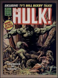 HULK  10 Doug Moench, 1st Color  issue! TV series Photo