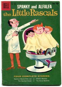 LITTLE RASCALS-FOUR COLOR #1030 1959-DELL COMICS-TV VG/FN