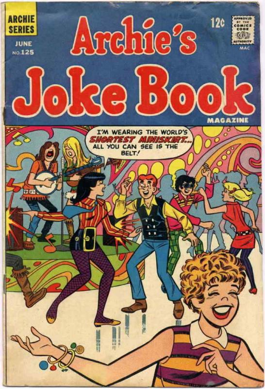 Archie's Jokebook Magazine #125 FN; Archie | save on shipping - details inside