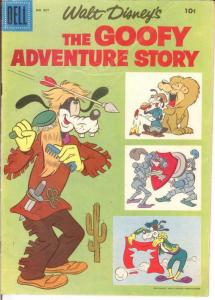 GOOFY F.C. 857 VG FULL TITLE GOOFY ADVENTURE STORY COMICS BOOK
